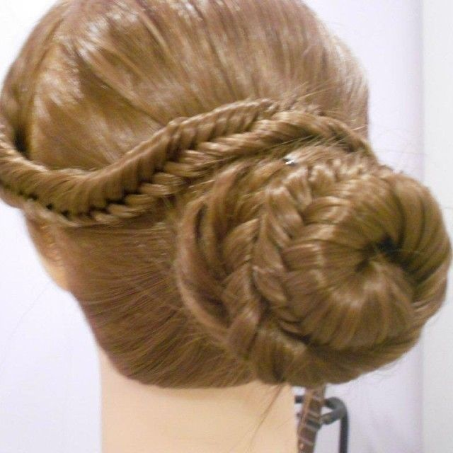 Fishtail Braid Bun Pictures Photos And Images For