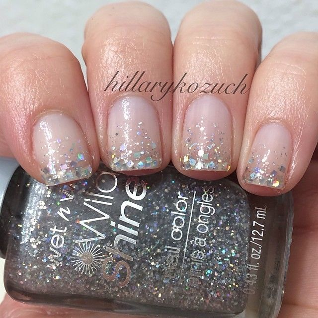 Glitter Gradient Nails Pictures Photos And Images For Facebook