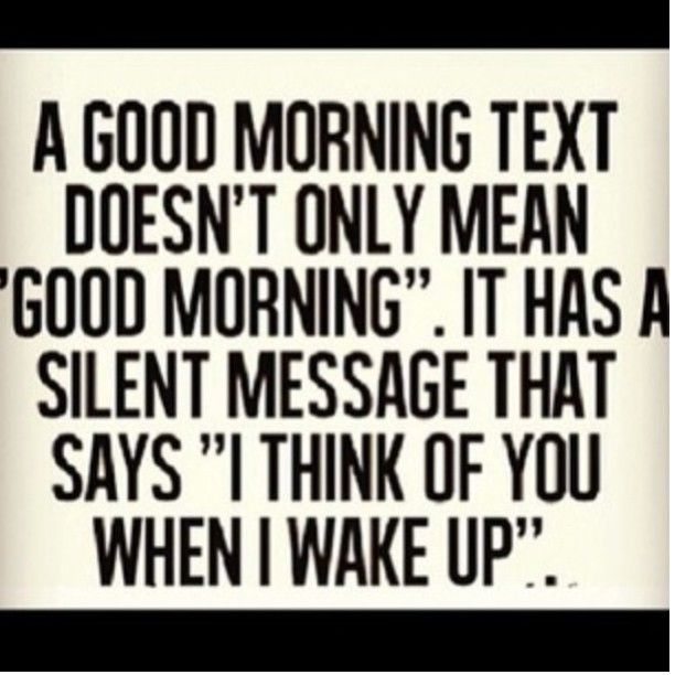 Romantic And Sweet Good Morning Text Messages For Him