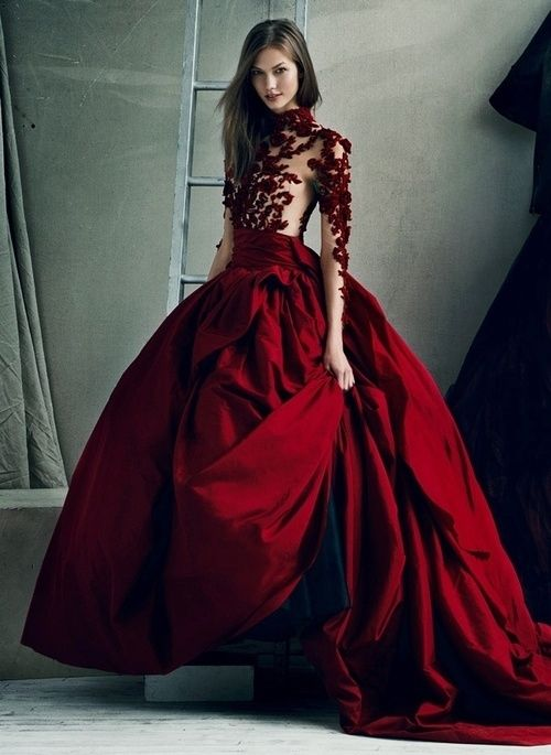 Gorgeous Deep Red Ball Gown Pictures Photos And Images For