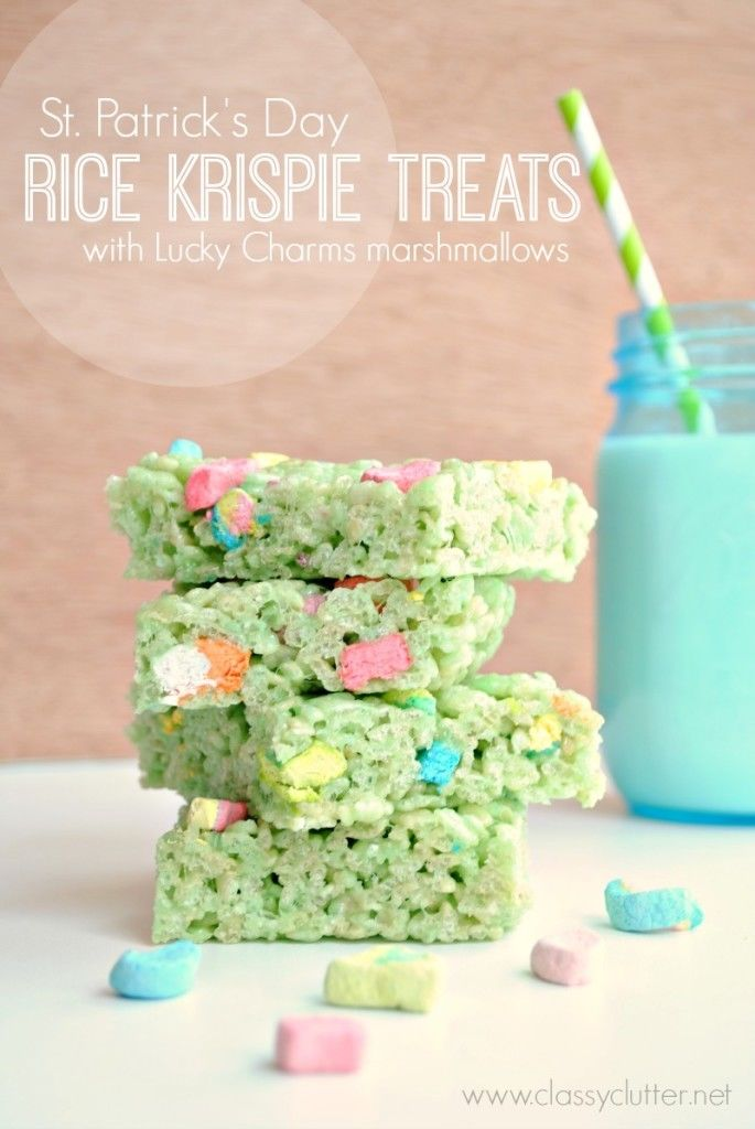 St Patricks Day Rice Krispie Treats Pictures, Photos, and ...
