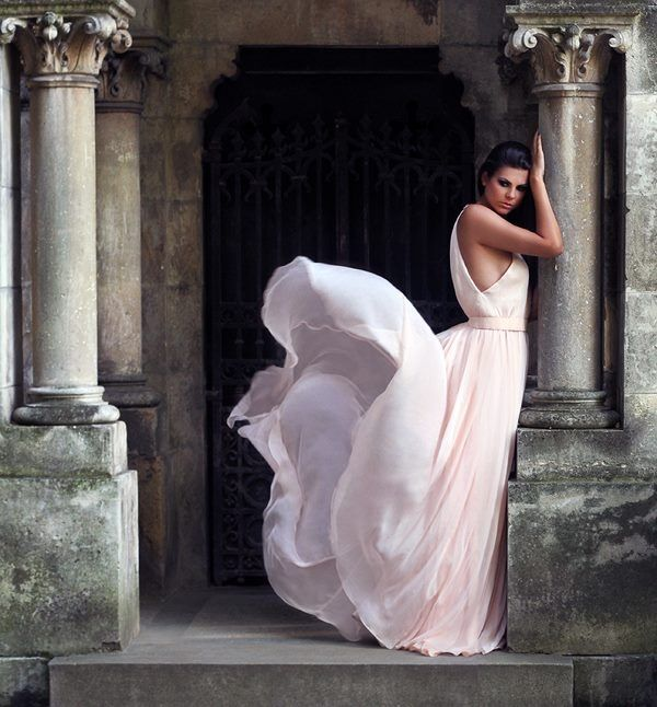 Pretty Flowing Pink Gown Pictures, Photos, and Images for Facebook ...