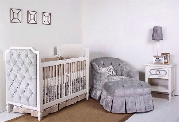 Sleek And Stylish Nursery Design Pictures Photos And