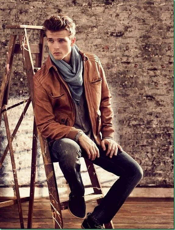 Mens Style Brown Leather Jacket Pictures, Photos, and Images for ...