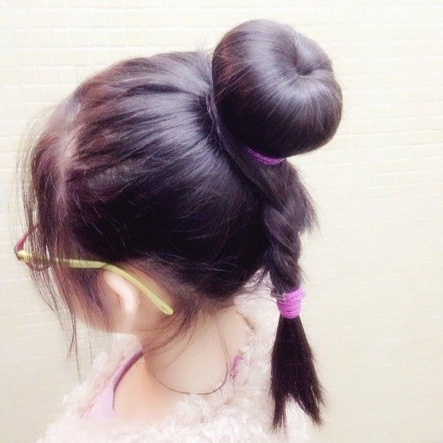 Cute hair bun pictures photos and images for facebook tumblr