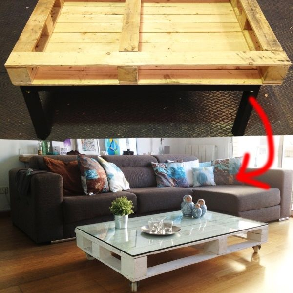 diy pallet coffee table pictures photos and images for. Black Bedroom Furniture Sets. Home Design Ideas