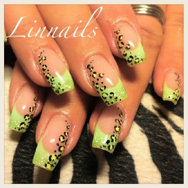 Green Leopard Nail Art Pictures, Photos, and Images for Facebook ...