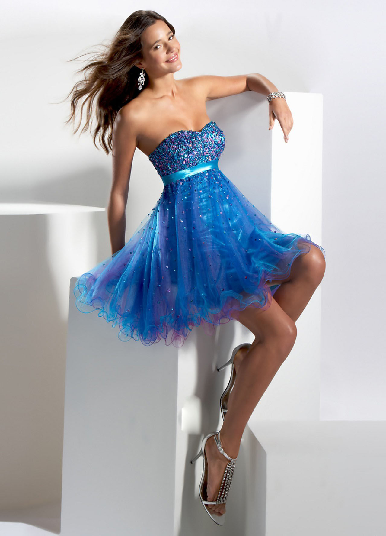 Beautiful Bright Blue Dress Pictures, Photos, and Images for ...