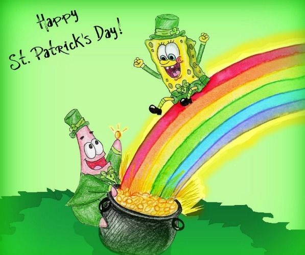 Spongebob St Patricks Day Pictures Photos And Images For