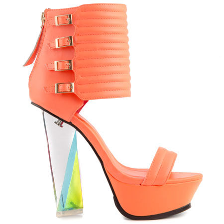 Orange High Heel Sandals Pictures Photos and Images for Facebook