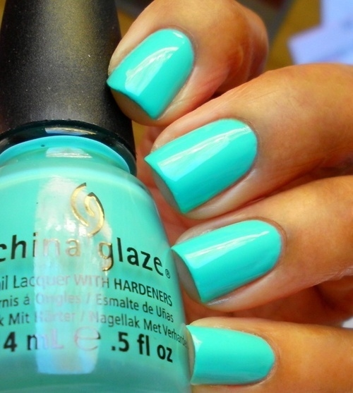 China Glaze Blue Nails Pictures, Photos, And Images For