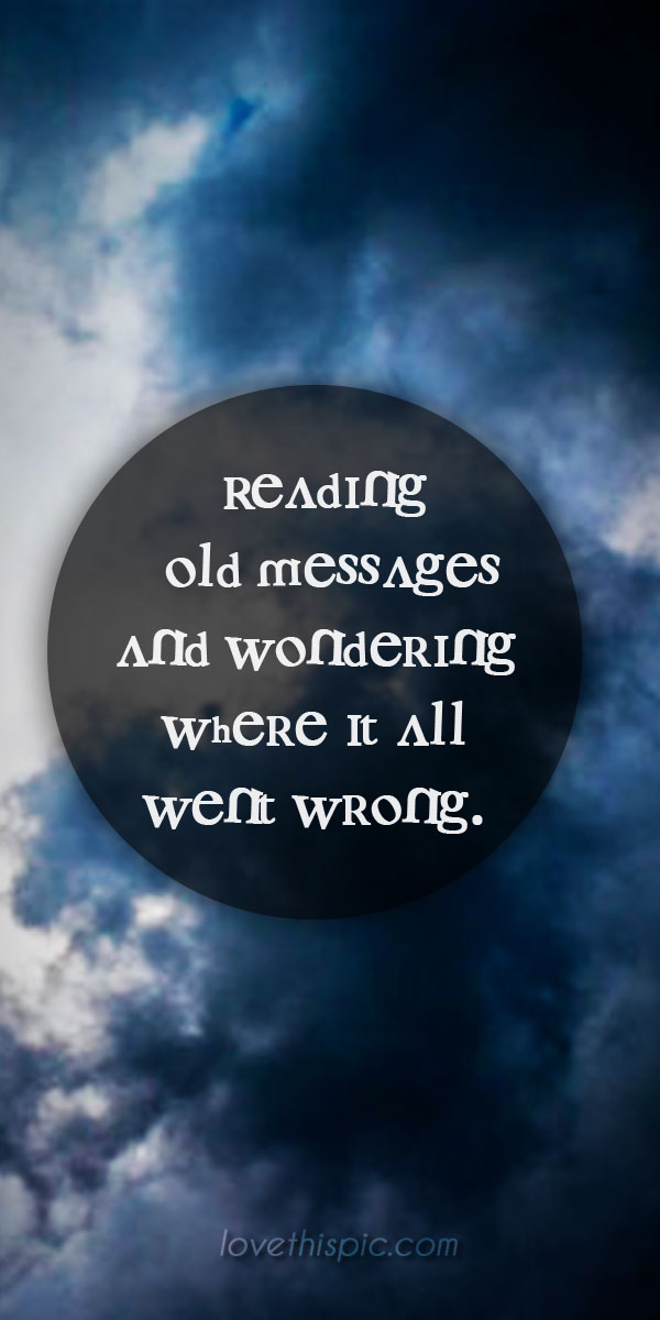 Reading Old Messages Pictures, Photos, and Images for Facebook