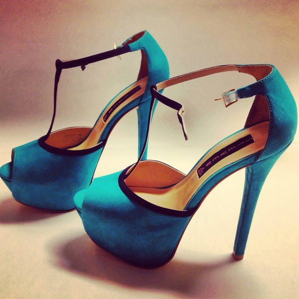 Turquoise Suede High Heels Pictures, Photos, and Images for ...