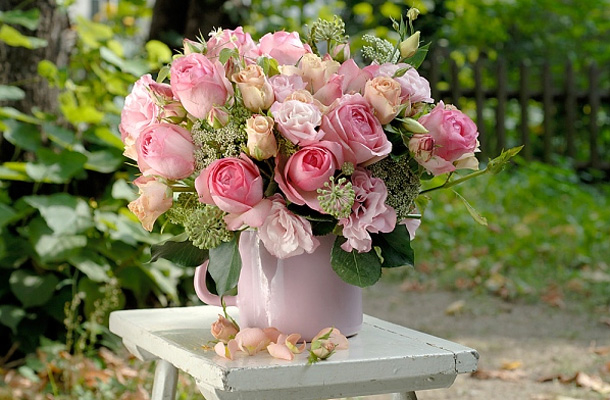 Goregous Pink Rose Bouquet Pictures Photos And Images For Facebook