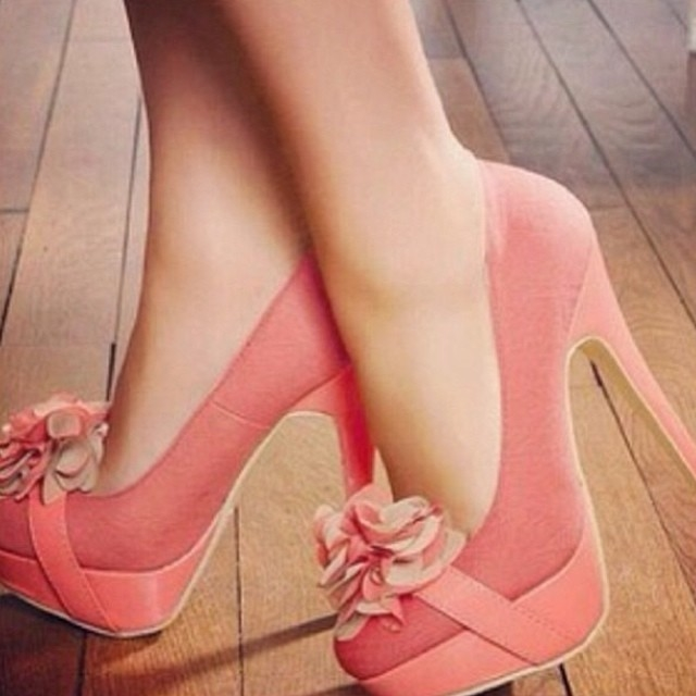 Pink Flower High Heels Pictures Photos and Images for Facebook
