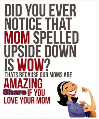 If you love your mom
