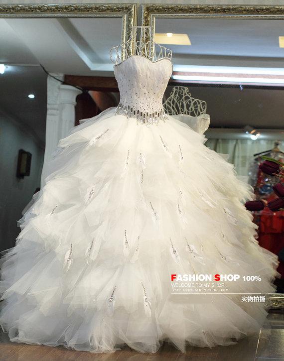 Big Fluffy Wedding Dresses 108