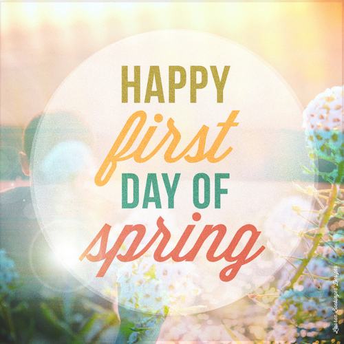Image result for is it the first day of spring today