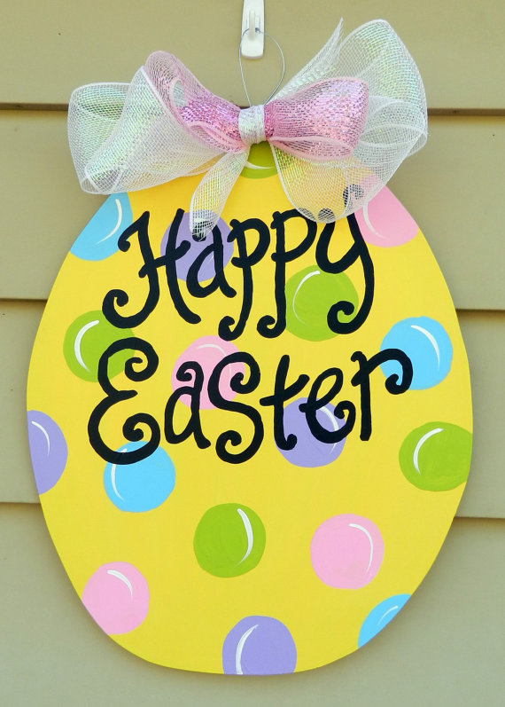 Easter Egg Door Hanger Pictures Photos And Images For Facebook Tumblr Pinterest And Twitter