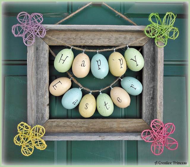 Easter Picture Frame Wreath Pictures Photos And Images For