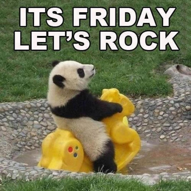 Funny Pictures About Friday: Its Friday Lets Rock Pictures, Photos, And Images For