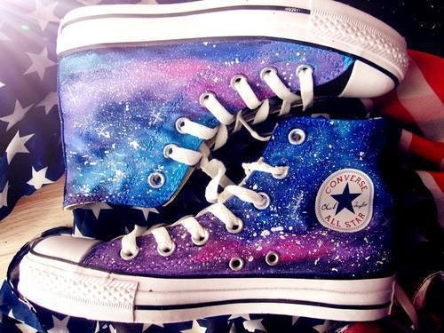 a2be78039cff Galaxy Converse All Stars Pictures