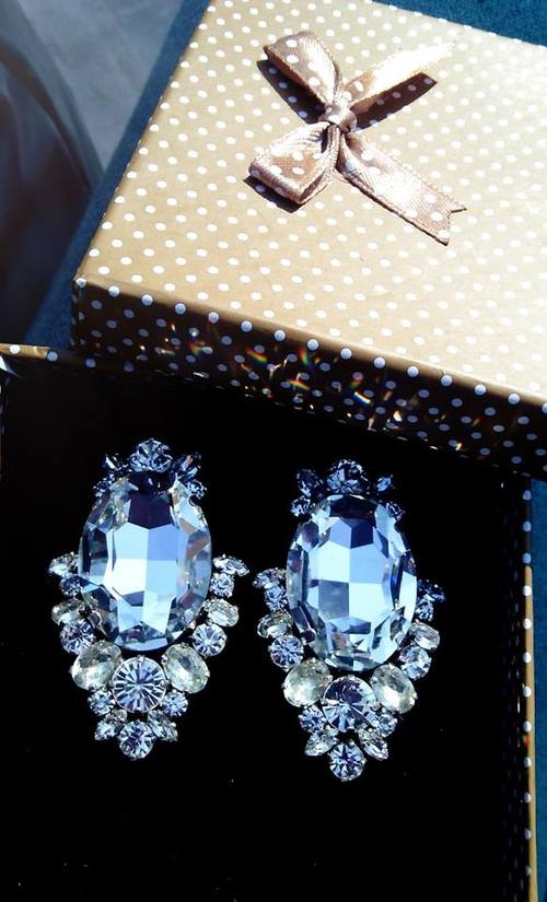 blue diamond earrings pictures photos and images for