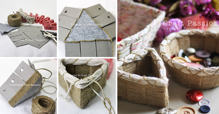 How To Weave A Simple Basket : Diy easy weave basket pictures photos and images for