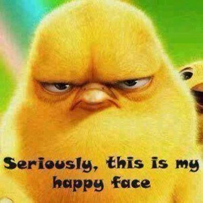 Seriously this is my happy face pictures photos and images for seriously this is my happy face voltagebd Image collections
