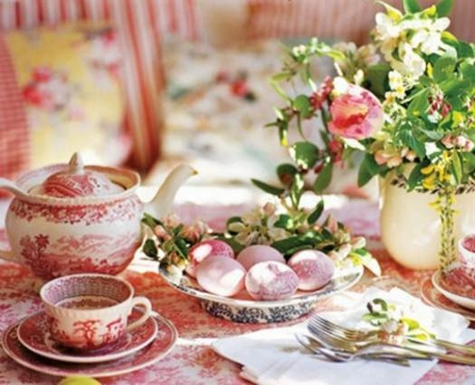 Pretty Easter Table Setting : easter table setting - Pezcame.Com