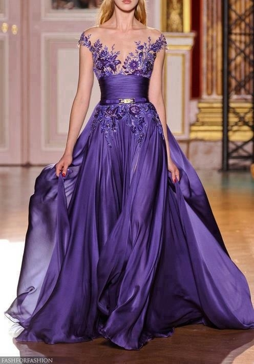 Lovley Purple Evening Gown Pictures, Photos, and Images for Facebook ...