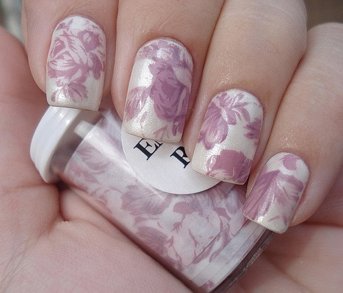 Vintage Nails: Purple Vintage Nails Pictures, Photos, And Images For