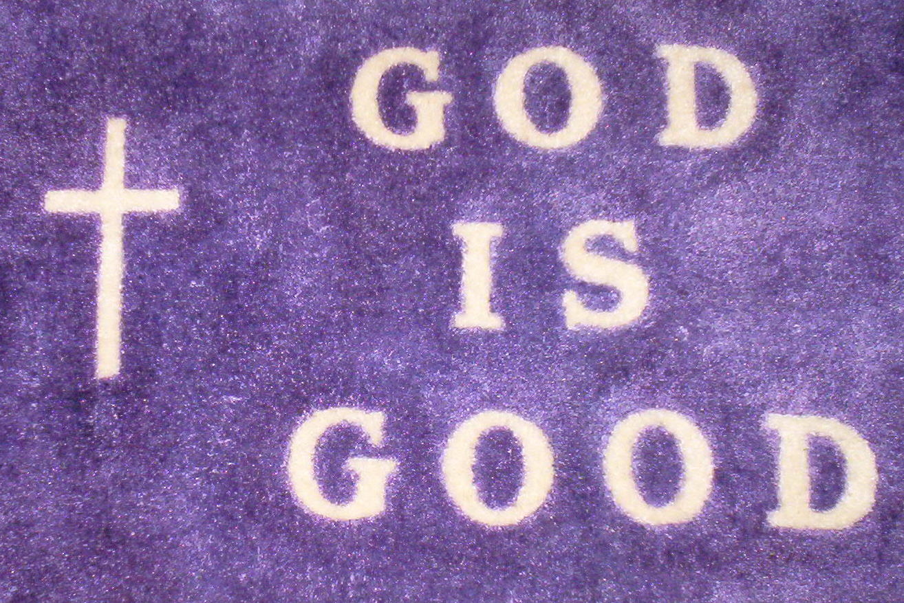 God IS the answer - Teaching What Is Good