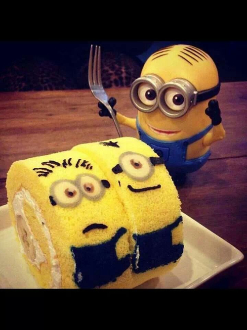 Cake Images Of Minions : Quotes Minions Cake. QuotesGram