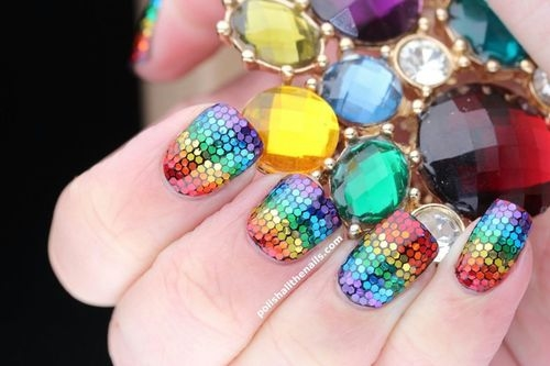 Rainbow Cool Nails Pictures Photos And Images For Facebook Tumblr