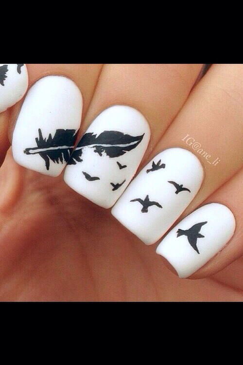 Feather And Bird Nails Pictures Photos And Images For Facebook