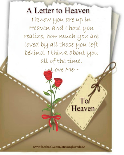 a letter to my dad in heaven a letter to heaven pictures photos and images for 28771 | 79828 A Letter To Heaven