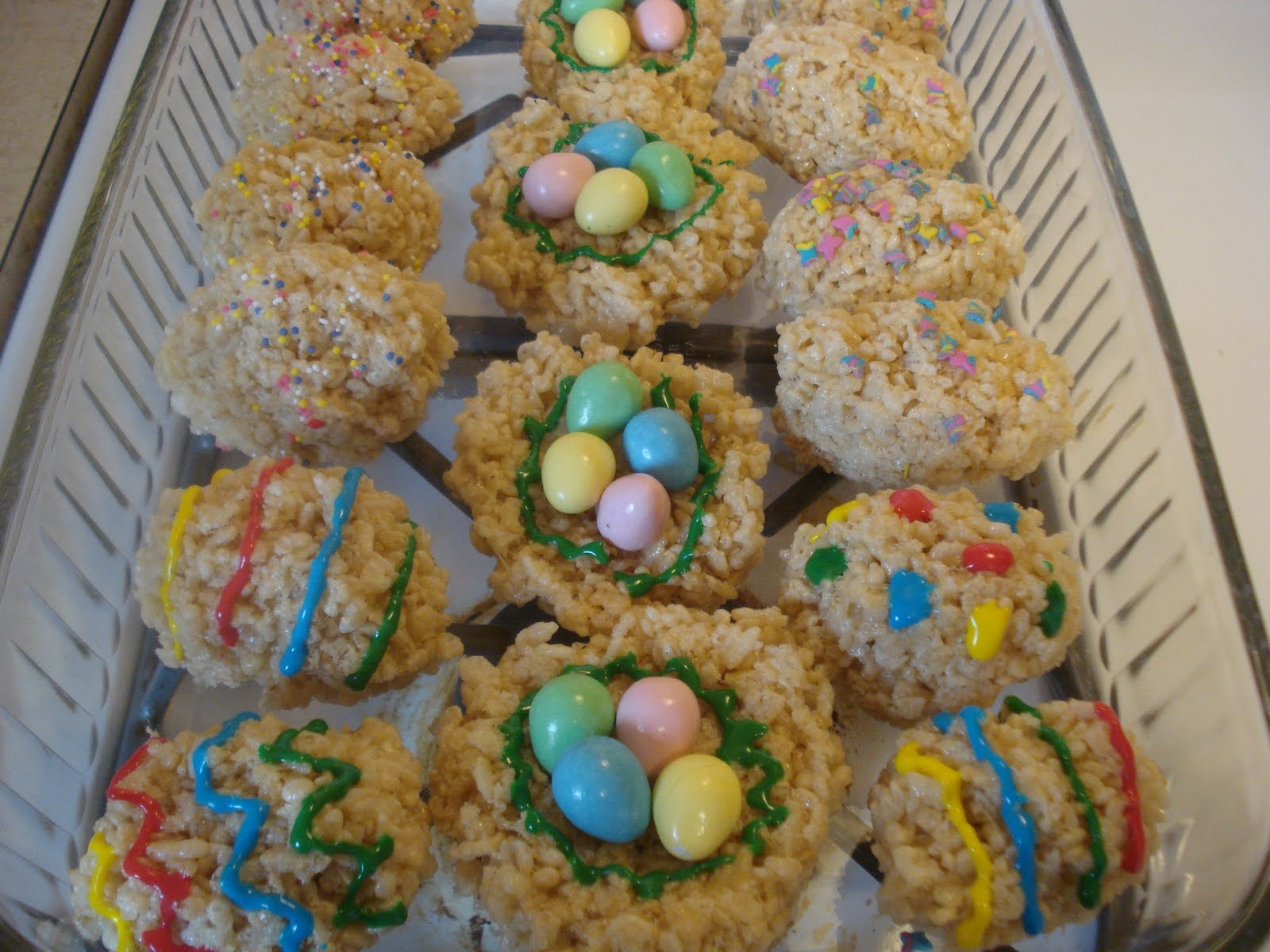 Rice Krispie Easter Eggs From Bouchon Bakery Recipe — Dishmaps