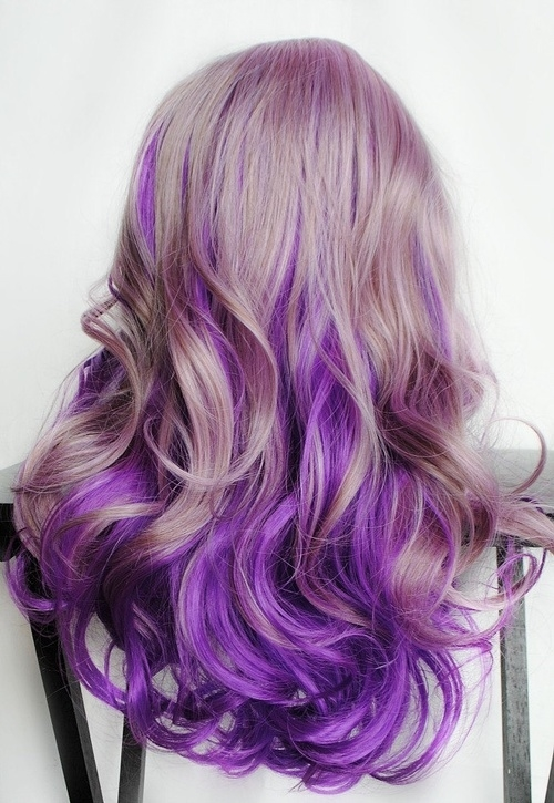 Blonde And Purple Curly Hair Pictures, Photos, and Images for Facebook