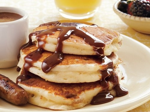 Chocolate Pancakes Pictures, Photos, and Images for ...