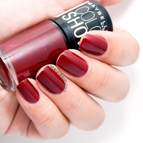 Dark Red Nails Pictures, Photos, and Images for Facebook ...