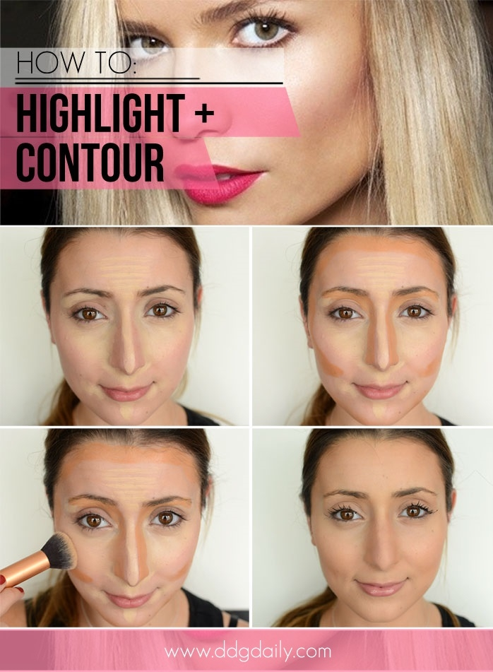 How to contour makeup