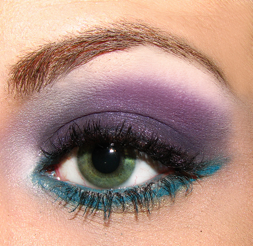 Purple And Blue Eye Makeup Pictures Photos And Images