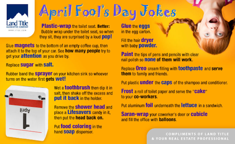 Pinterest Jokes: April Fools Day Jokes Pictures, Photos, And Images For