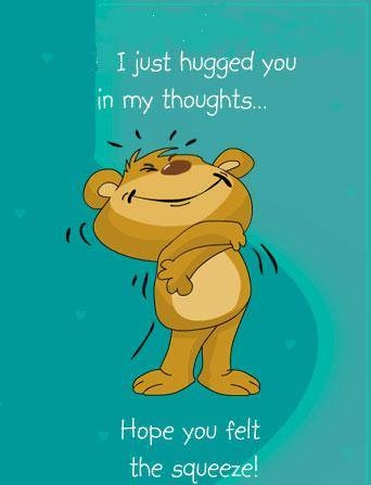 I Just Hugged You In My Thoughts Pictures, Photos, and ...