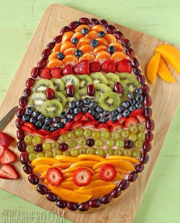 Easter Egg Fruit Appetizer Pictures, Photos, And Images