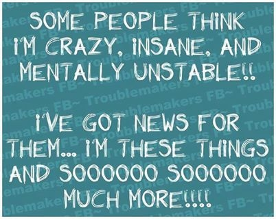 people think i am