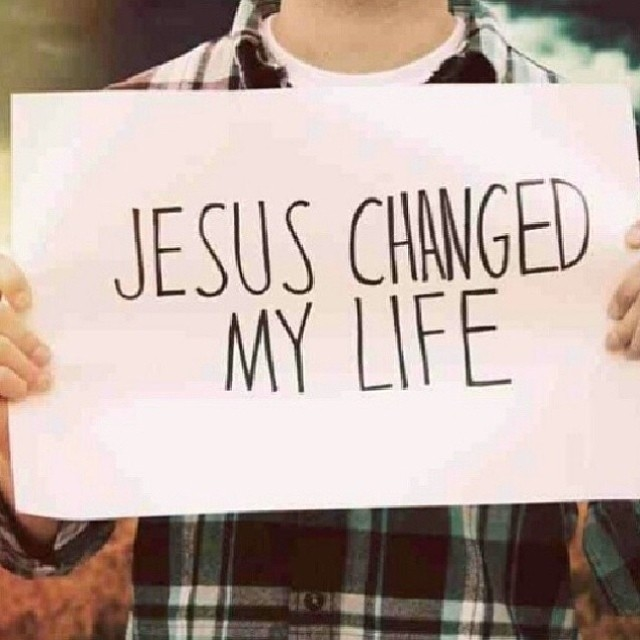 Jesus Changed My Life Pictures Photos And Images For Facebook