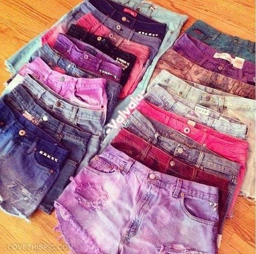Colorful Jean Shorts Pictures, Photos, and Images for Facebook ...