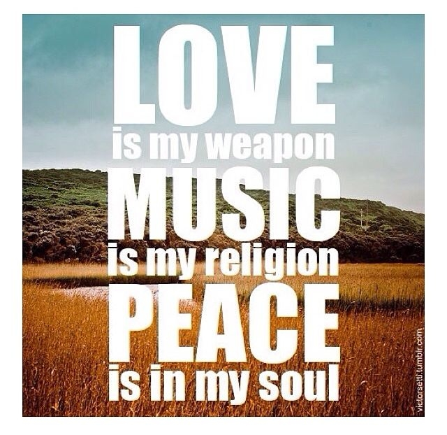 Peace Love Quotes Download: Love Music Peace Pictures, Photos, And Images For Facebook